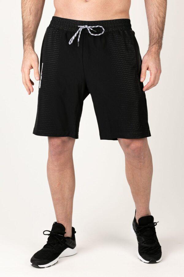Heren korte broek zwart