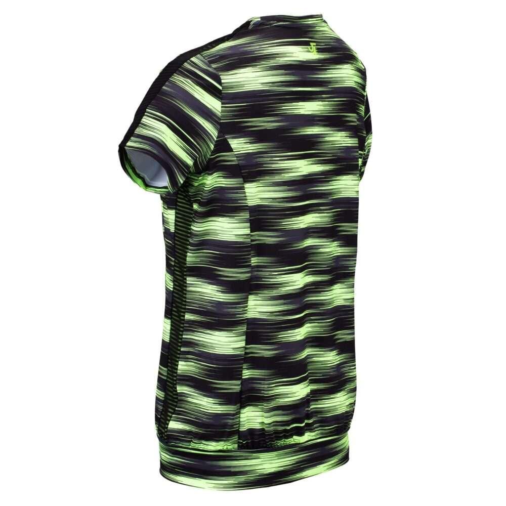 zwart-groene dames t-shirt