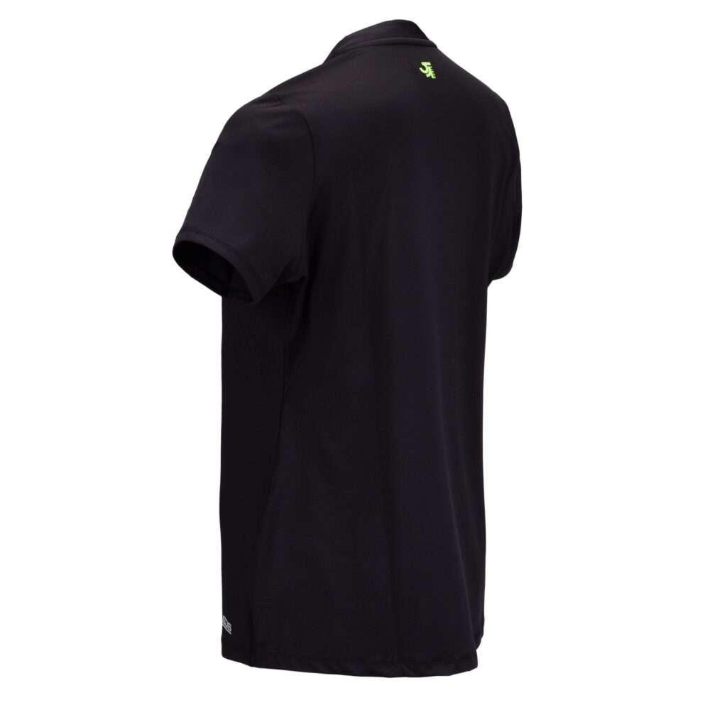 zwarte dames sport shirt