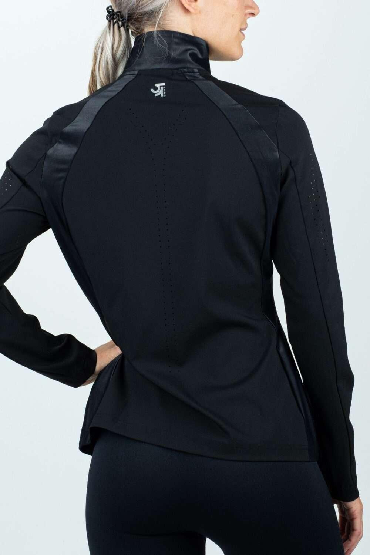 zwart dames vest extra comfort