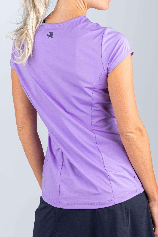 lila dames shirt tennis