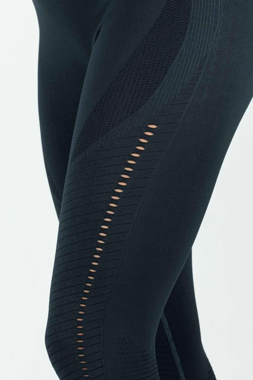 zwarte stretch legging dames