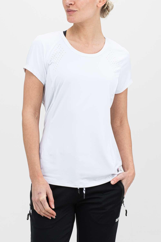 Dames t-shirt wit voorkant