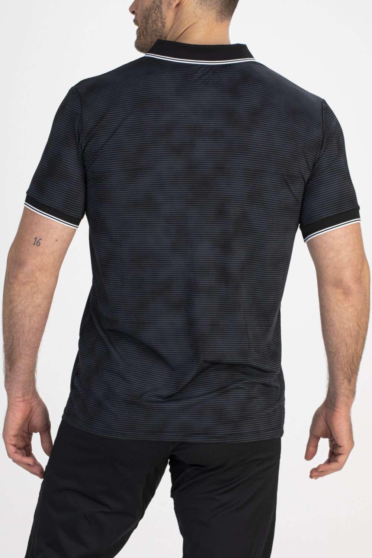 zwart shirt mannen achterkant