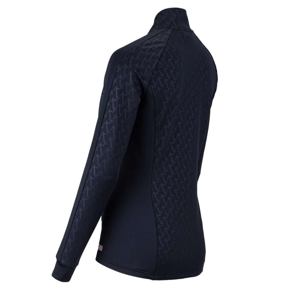 donkerblauw vest plus size