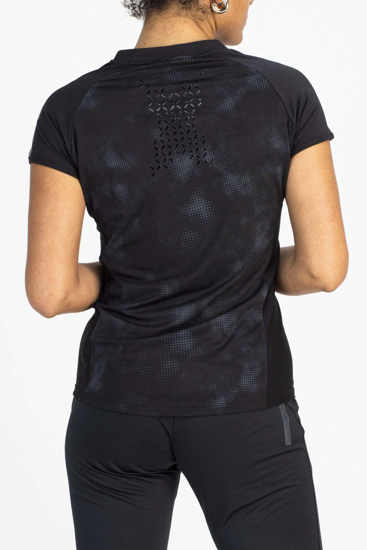 sportshirt zwart achterkant