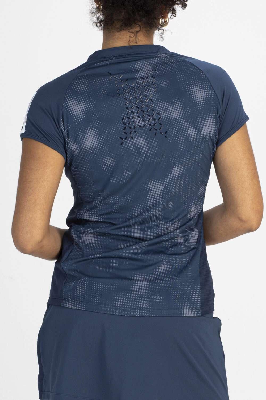 sportshirt blauw achterkant