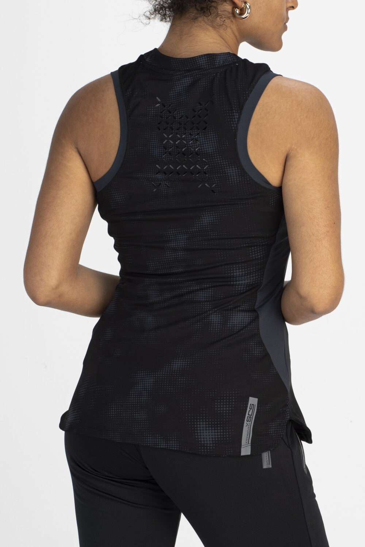 dames shirt zwart achterkant